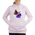 butterfly-4 Women's Hooded Sweatshirt