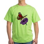 butterfly-4 Green T-Shirt