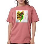 butterfly-7 Womens Comfort Colors® Shirt