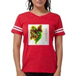 butterfly-7 Womens Football Shirt