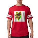 butterfly-7 Mens Football Shirt