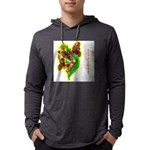 butterfly-7 Mens Hooded Shirt