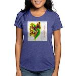 butterfly-7 Womens Tri-blend T-Shirt