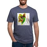 butterfly-7 Mens Tri-blend T-Shirt