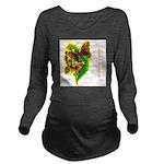 butterfly-7 Long Sleeve Maternity T-Shirt