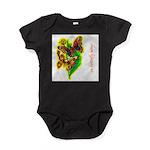 butterfly-7 Baby Bodysuit