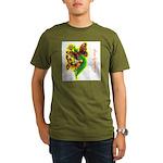 butterfly-7 Organic Men's T-Shirt (dark)