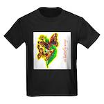 butterfly-7 Kids Dark T-Shirt