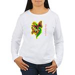 butterfly-7 Women's Long Sleeve T-Shirt