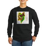 butterfly-7 Long Sleeve Dark T-Shirt
