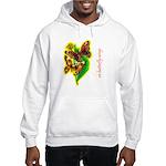 butterfly-7 Hooded Sweatshirt