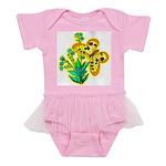 butterfly-3 Baby Tutu Bodysuit
