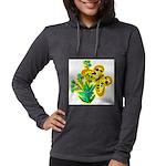 butterfly-3 Womens Hooded Shirt