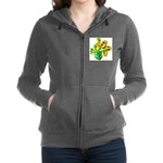 butterfly-3 Women's Zip Hoodie