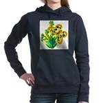 butterfly-3 Women's Hooded Sweatshirt