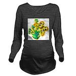 butterfly-3 Long Sleeve Maternity T-Shirt