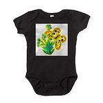 butterfly-3 Baby Bodysuit