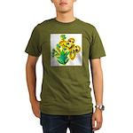 butterfly-3 Organic Men's T-Shirt (dark)