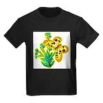 butterfly-3 Kids Dark T-Shirt