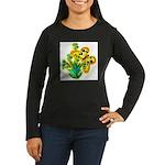 butterfly-3 Women's Long Sleeve Dark T-Shirt