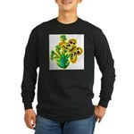 butterfly-3 Long Sleeve Dark T-Shirt