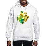 butterfly-3 Hooded Sweatshirt
