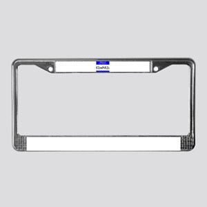 """Edward"" License Plate Frame"