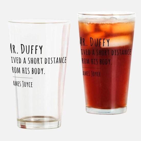 Unique Joyce Drinking Glass