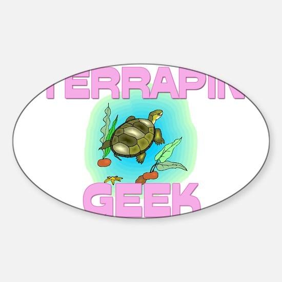 Terrapin Geek Oval Decal