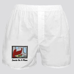 Snacks On A Plane Boxer Shorts