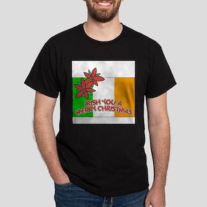 FIN-irish-merry-christmas Dark T-Shirt