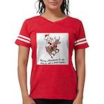 Merry Christmas To All Womens Football Shirt