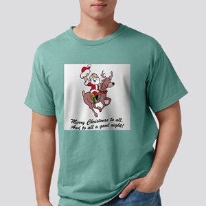 Merry Christmas To All Mens Comfort Colors® Shirt