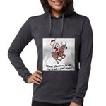 Merry Christmas To All Womens Hooded Shirt