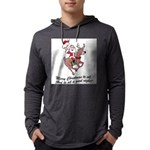 Merry Christmas To All Mens Hooded Shirt