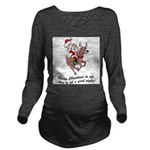 Merry Christmas To All Long Sleeve Maternity T-Shi