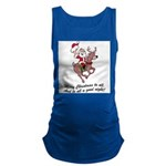 Merry Christmas To All Maternity Tank Top