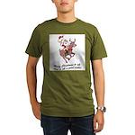 Merry Christmas To All Organic Men's T-Shirt (dark