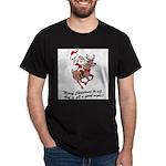 Merry Christmas To All Dark T-Shirt
