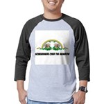 FIN-st-patricks-day-rainbow-4x4 Mens Baseball Tee
