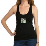 FIN-st-patricks-day-rainbow-4x4 Racerback Tank Top
