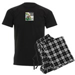 FIN-st-patricks-day-rainbow-4x4 Men's Dark Pajamas