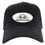 FIN-st-patricks-day-rainbow-4x4 Black Cap with Pat