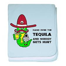 Tequila Humor baby blanket