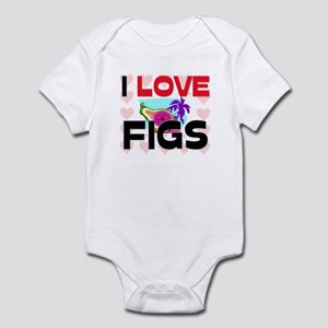 I Love Figs Infant Bodysuit