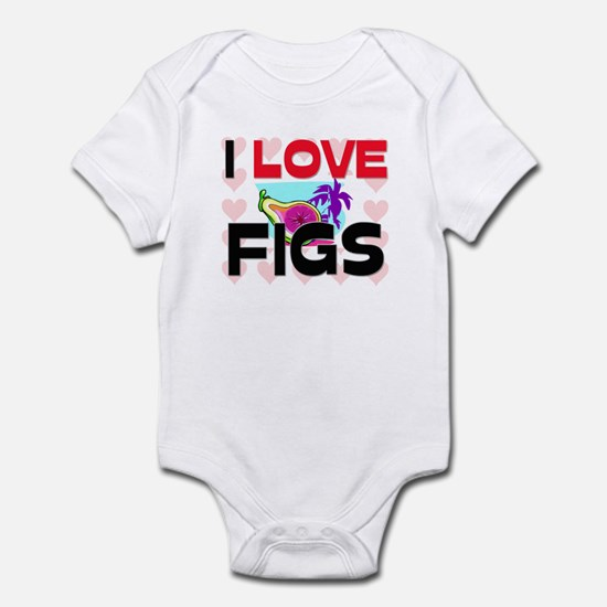 I Love Figs Infant Bodysuit