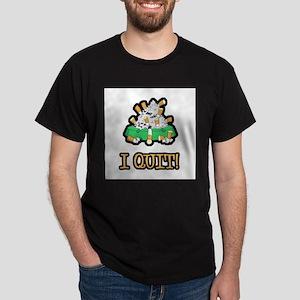 I Quit Smoking Dark T-Shirt