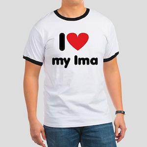 I Love my Ima Ringer T