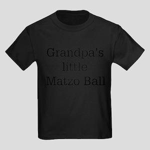 Grandpa's Matzo Ball Kids Dark T-Shirt