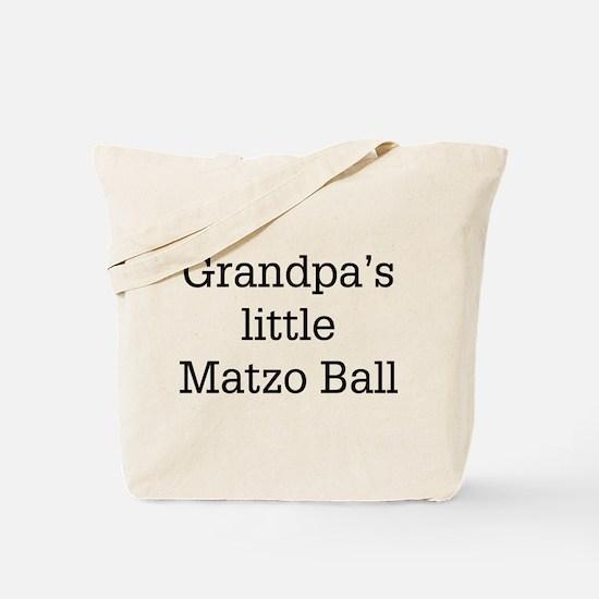 Grandpa's Matzo Ball Tote Bag